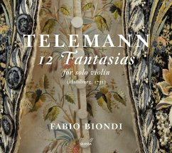 12 Fantasien Für Solovioline (Twv 40:14-25) - Biondi,Fabio
