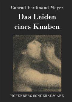 9783843082235 - Meyer, Conrad Ferdinand: Das Leiden eines Knaben - Kitabu