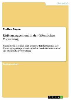 Risikomanagement in der öffentlichen Verwaltung (eBook, ePUB)