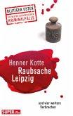 Raubsache Leipzig (Mängelexemplar)