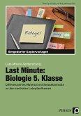 Last Minute: Biologie 5. Klasse