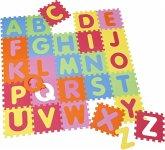Knorrtoys 21003 - Puzzlematte Bodenpuzzle Spielmatte Spielteppich Schaumstoffmatte Alphabet, 60 Teile