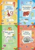 Pixi kreativ Serie Nr. 8: 4er Bundle: Fit für den Schulanfang