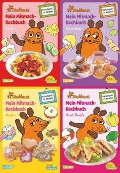 Pixi kreativ Serie Nr. 17: 4er Bundle: Mitmach-...