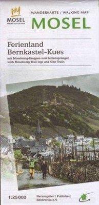 Topographische Karte Rheinland-Pfalz Wandergebi...