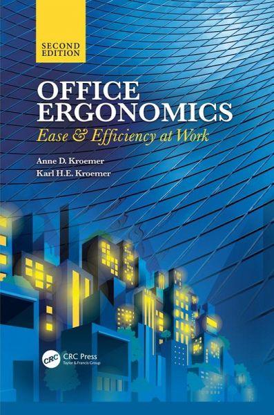 Office Ergonomics Ebook Pdf Von Anne D Kroemer Karl He