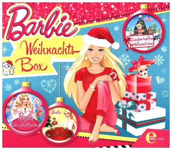 barbie weihnachts box 3 audio cd h rbuch b. Black Bedroom Furniture Sets. Home Design Ideas