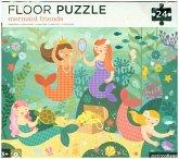 Bodenpuzzle - Floor Puzzle Meerjungfrauen (Kinderpuzzle)