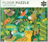 Bodenpuzzle - Floor Puzzle Regenwald (Kinderpuzzle)