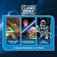 The Clone Wars - Hörspielbox (MP3-Download) - Krstic, George; Burns, Tim; Melching, Steve; Gilroy, Henry; Murphy, Scott