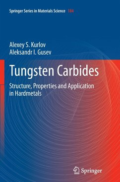 Tungsten Carbides - Kurlov, Alexey S.;Gusev, Aleksandr I.