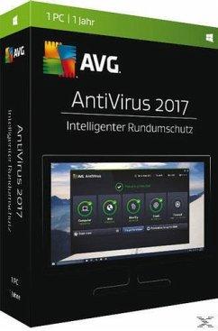 AVG AntiVirus 2017 ? (1 PC/1 Jahr) - Intelligenter Rundumschutz