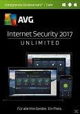 AVG Internet Security 2017 (unbegr.Geräte/1 Jahr)