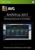 AVG AntiVirus 2017 (3 PC/1 Jahr) - Rundumschutz in Echtzeit