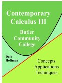 Contemporary Calculus 3rd Semester