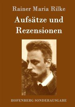 9783843082952 - Rainer Maria Rilke: Aufsätze und Rezensionen - Book