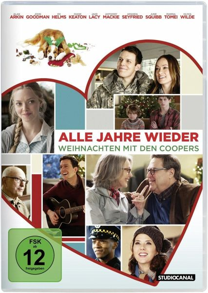 alle jahre wieder weihnachten mit den coopers film auf dvd. Black Bedroom Furniture Sets. Home Design Ideas