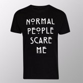 Normal People Scare Me (Shirt M/Black)