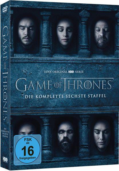 Game of Thrones - Die komplette 6. Staffel (5 Discs)