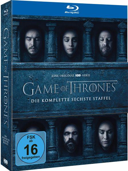Game of Thrones - Die komplette 6. Staffel (4 Discs)