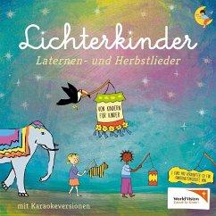 Bewegungs- und Laternenlieder, 1 Audio-CD - Lichterkinder