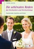 Die schönsten Reden für Hochzeiten und Hochzeitstage (eBook, PDF)