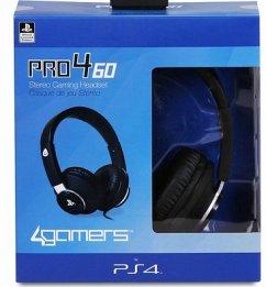 Stereo Gaming Headset Pro4 60, Kopfhörer, schwarz