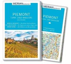 MERIAN momente Reiseführer Piemont Turin Lago Maggiore - Schuckardt, Jenny