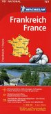 Michelin Karte Frankreich; France