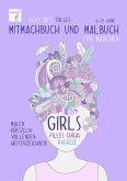 Vicky Bo's tolles Mitmachbuch und Malbuch für Mädchen. Ab 6 bis 10 Jahre