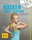Rücken-Akut-Training (mit DVD) (Mängelexemplar)