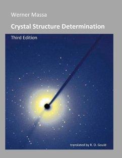 Crystal Structure Determination (eBook, PDF) - Werner Massa