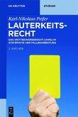 Lauterkeitsrecht (eBook, ePUB)