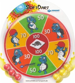Schildkröt 970140 - Funsports Soft Dart Set, inkl. 2x3 Klett-Bälle