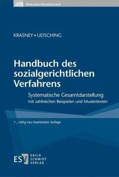 Handbuch des sozialgerichtlichen Verfahrens - Krasney, Otto E.; Udsching, Peter