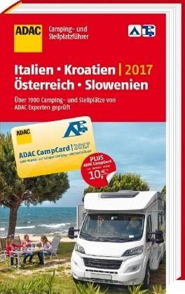 adac camping und stellplatzf hrer 2017 italien kroatien. Black Bedroom Furniture Sets. Home Design Ideas
