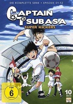 Captain Tsubasa - Super Kickers - Gesamtedition Folgen 1-52 DVD-Box