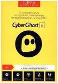 CyberGhost 6, 5 Geräte, 1 DVD-ROM