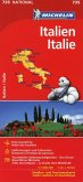Michelin Karte Italien; Italie
