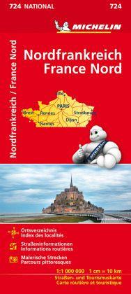 Nordfrankreich Karte.Michelin Karte Nordfrankreich France Nord