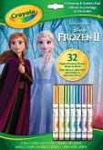 Crayola Frozen 2 - Ausmal- und Beschäftigungsbogen