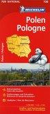 Michelin Karte Polen; Pologne