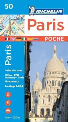 Michelin Karte Paris Pocket Plan