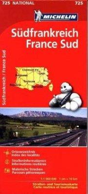 Michelin Karte Südfrankreich; France Sud