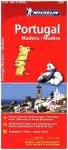 Michelin Karte Portugal Madeira; Portugal, Madère