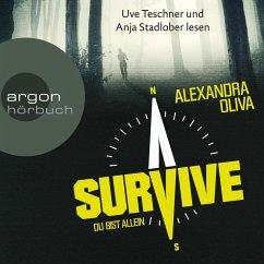 Survive - Du bist allein (Ungekürzte Lesung) (MP3-Download) - Oliva, Alexandra
