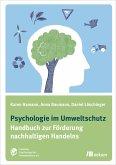 Psychologie im Umweltschutz (eBook, PDF)