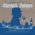 Sherlock Holmes Stories - Der Hund von Baskerville, 3 Audio-CD