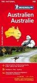 Michelin Karte Australien; Australie