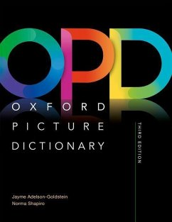 Oxford Picture Dictionary. Monolingual Dictionary - Adelson-Goldstein, Jayme; Shapiro, Norma